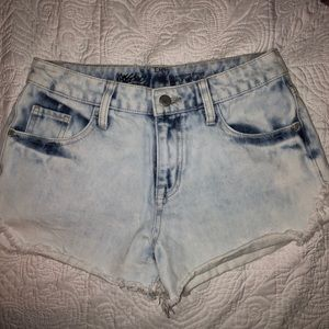 Mossimo acid wash shorts